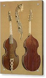 Viola Da Gamba, Or Bass Viol Acrylic Print