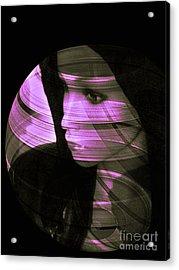 Violet Love  Acrylic Print