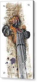 Violin 01 Elena Yakubovich Acrylic Print