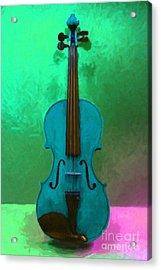 Violin - 20130111 V2 Acrylic Print