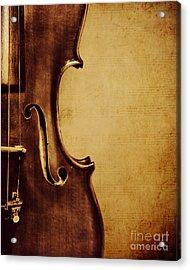 Violin Portrait  Acrylic Print