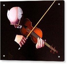 Violin Virtuoso-grandfather Inspired Acrylic Print