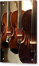 Violins Vertical Acrylic Print