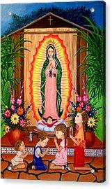 Virgen De Guadalupe #3 Acrylic Print