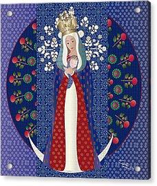 Virgen Posada Del Lago Acrylic Print