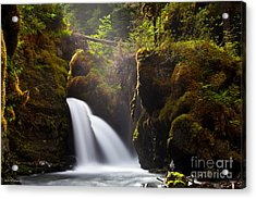 Virgin Creek Falls Acrylic Print