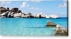 Virgin Islands The Baths Acrylic Print
