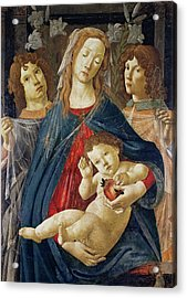 Virgin Of The Pomegranate Acrylic Print