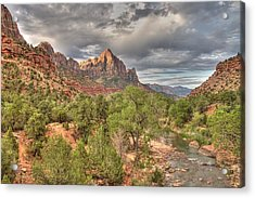 Virgin River Acrylic Print by Jeff Cook