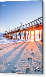 Virginia Beach Fishing Pier Acrylic Print