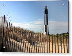 Virginia Beach Acrylic Print by JC Findley