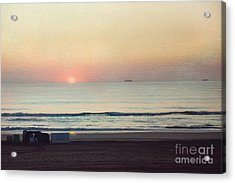 Virginia Beach Sunrise Acrylic Print