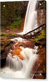 Acrylic Print featuring the photograph Virginia Cascades by Aaron Whittemore