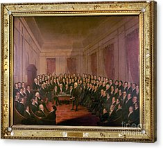 Virginia Convention 1829 Acrylic Print by Granger