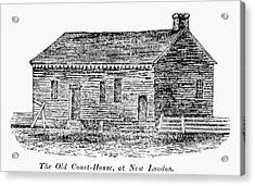 Virginia Court House Acrylic Print by Granger