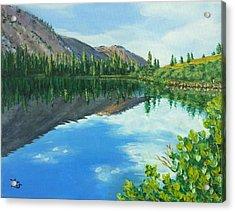 Virginia Lake Acrylic Print