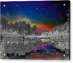 Virginia Landscape Art #1  Acrylic Print by Digital Art Cafe