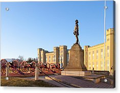 Virginia Military Institute Acrylic Print by Melinda Fawver