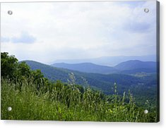 Acrylic Print featuring the photograph Virginia Mountains by Laurie Perry