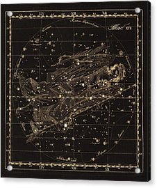 Virgo Constellation, 1829 Acrylic Print by Science Photo Library