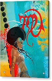 Virgo Acrylic Print by Corporate Art Task Force