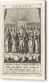 Virtue Of Heaven, Hieronymus Wierix Acrylic Print
