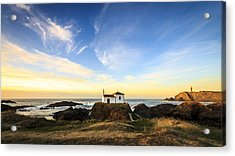 Acrylic Print featuring the photograph Virxe Do Porto Meiras Galicia Spain by Pablo Avanzini