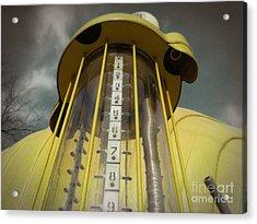 Visible Gas Pump Acrylic Print