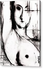 Acrylic Print featuring the drawing Vision by Helen Syron