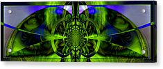 Acrylic Print featuring the photograph Vision Logic No. 2 by Robert Kernodle