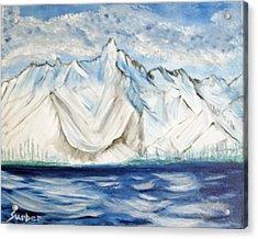 Vision Of Mountain Acrylic Print