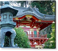 Acrylic Print featuring the photograph Visions Of Japan by Nancy Bradley
