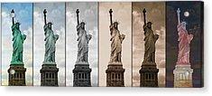 Visions Of Liberty Acrylic Print