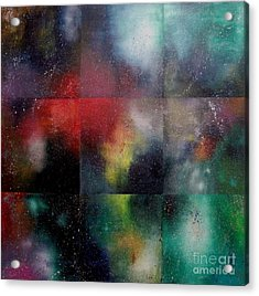 Visions Of Space And Time Acrylic Print by Jeremy Aiyadurai