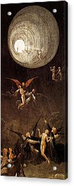 Visions Of The Hereafter - Ascent Of The Blessed Acrylic Print by Hieronymus Bosch