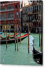 Acrylic Print featuring the photograph Visions Of Venice 4. by Nancy Bradley