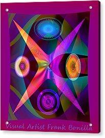 Visions Acrylic Print by Visual Artist  Frank Bonilla