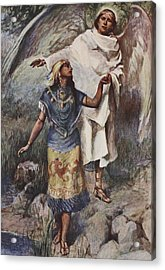 Visitation Acrylic Print by William Sewell