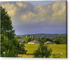Vista At Tildon Wisconsin Acrylic Print by Larry Capra