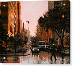 Vista Drizzle Acrylic Print by Blue Sky