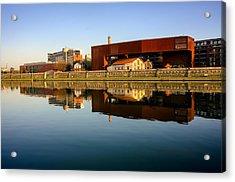 Vistula River 2 Acrylic Print by Tomasz Dziubinski