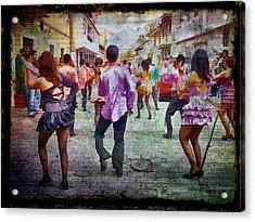 Viva La Fiesta Acrylic Print