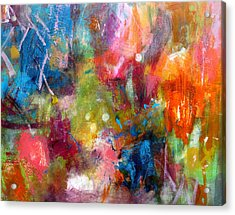 Acrylic Print featuring the painting Vivacious by Katie Black