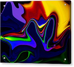 Vivacity  - Abstract  Acrylic Print by Gerlinde Keating - Galleria GK Keating Associates Inc