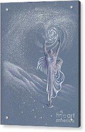 Vivaldi The Four Seasons Winter      Acrylic Print by Elizabeth Dobbs
