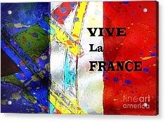 Vive La France Acrylic Print by Brian Raggatt