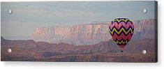 Vivid Balloon Panorama Acrylic Print by Kate Sumners