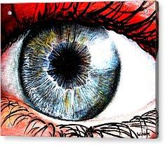 Vivid Vision  Acrylic Print by Tylir Wisdom