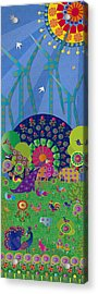 Vivimos En Armonia - Limited Edition 1 Of 20 Acrylic Print