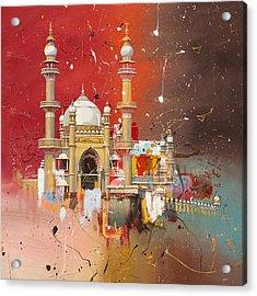 Vizhinjam Mosque Acrylic Print by Corporate Art Task Force